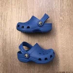 Crocs Classic Royal Blue Baby Toddler Size 2-3C